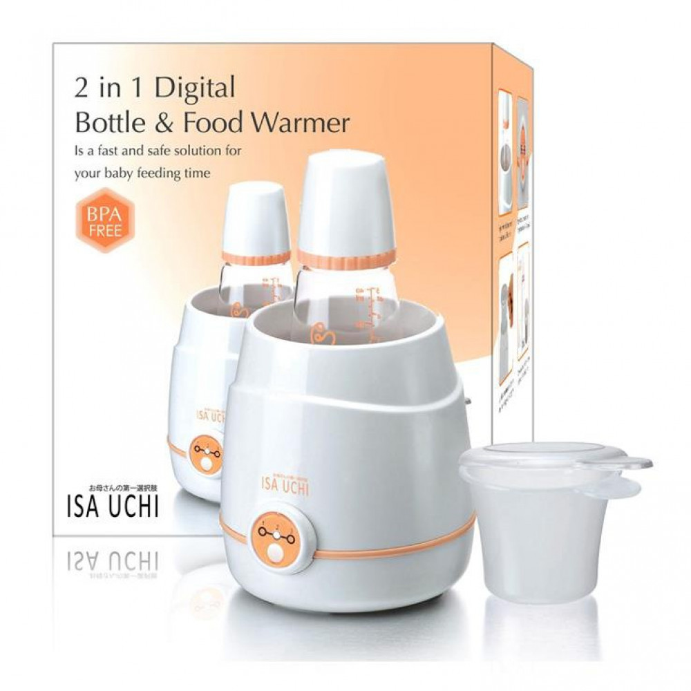 Isa Uchi 2 in 1 Digital Bottle and Food Warmer-Ready Stock