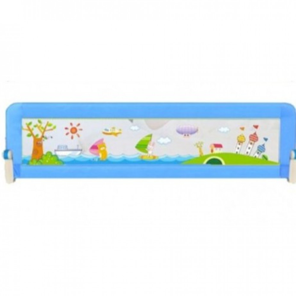 Mothercare Brights-Two Extra Safety Bedrail 1.8m - 1pcs(Blue)-Ready Stock