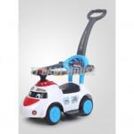 Aero Toon Ride On Baby Walker - Blue/Yellow/white-Ready Stock