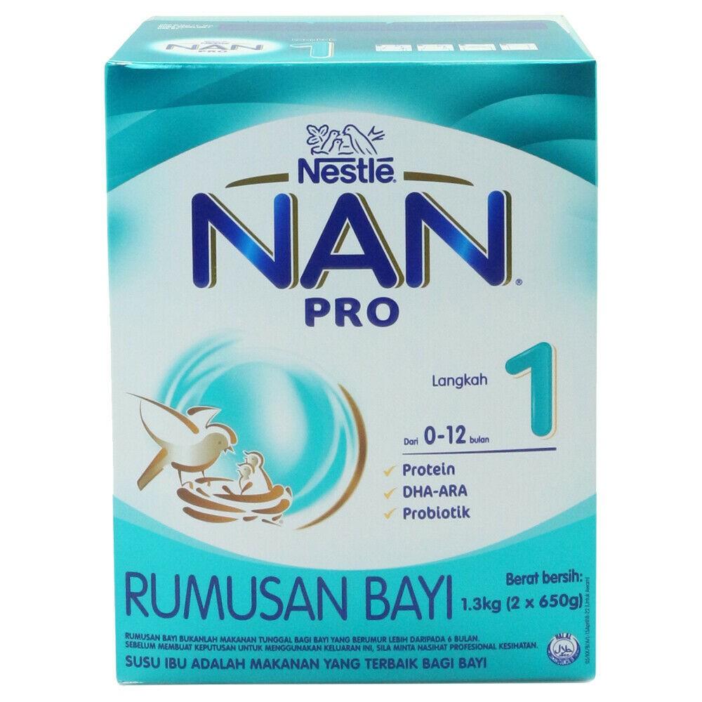 NAN PRO Step 1 Milk Powder 1.3kg-Ready Stock