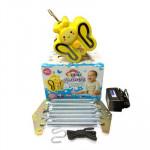 Polo Electronic Baby Cradle - 1 Yaer Warranty-Ready Stock