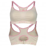 Cake Lingerie Cotton Candy Luxury Seamless Maternity And Nursing Bra-Ready Stock
