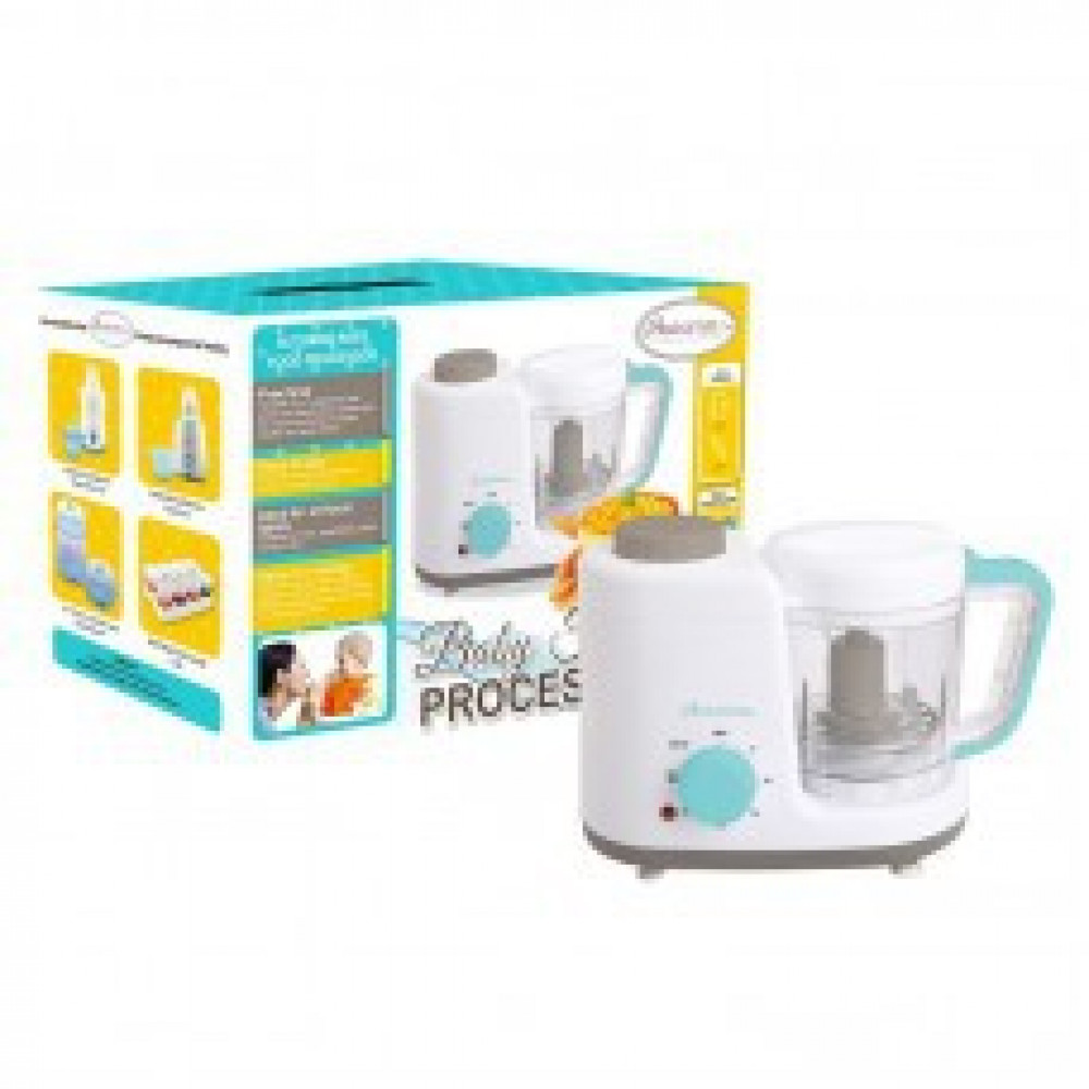 Autumnz  2 in 1 Baby Food Processor (Steam & Blend)-Ready Stock