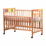 Baby Love Rubber Wood Cot-Ready Stock