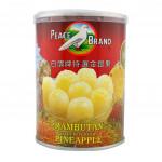 Peace Brand Rambutan Stuffed With Pineapple 565g
