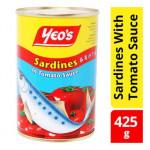 Yeo's Sardines In Tomato Sauce 425g