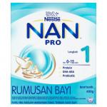 Nestle NAN PRO Step1/Step2 600g(0-12 months/6-36 months)