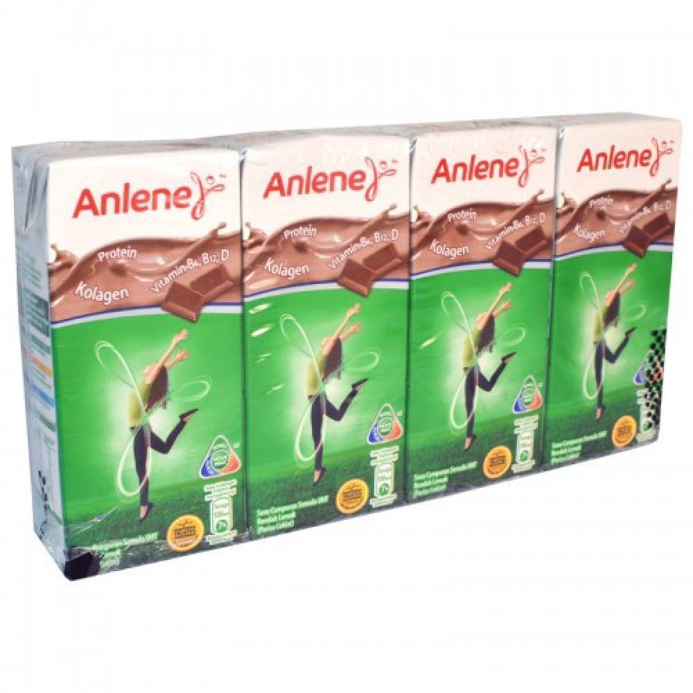 Anlene Low Fat Milk 4x180ml(Chocolate)