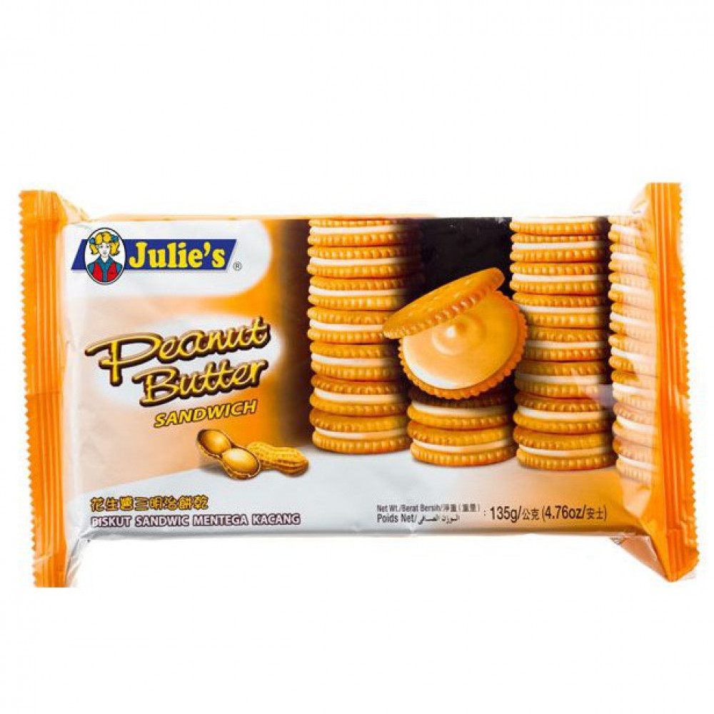 Julie's Peanut Butter Biscuits and Other Selections