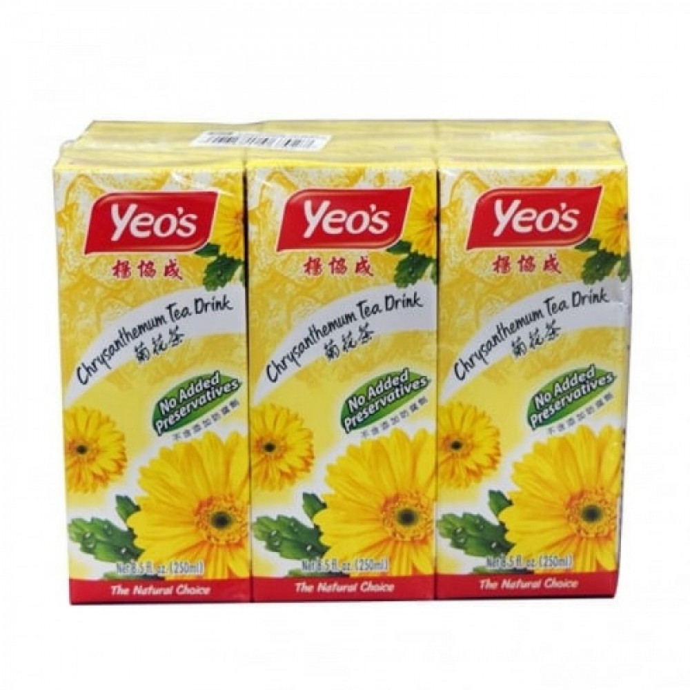 Yeo's Chrysanthemum Tea (6x250ml)