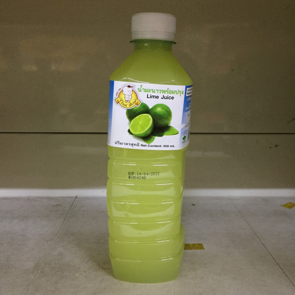 Thai Boy Lime Juice 500ml and variety