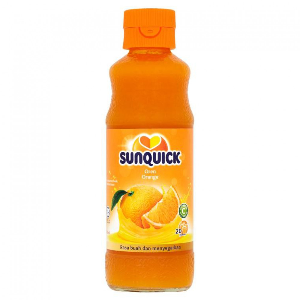 Sunquick Orange 330ml with Variety