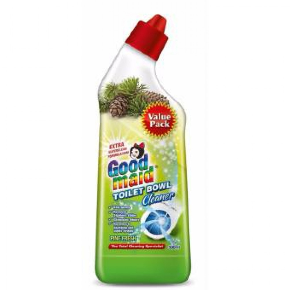 Good Maid Toilet Bowl Cleaner Pine Fresh 500ml with Variety