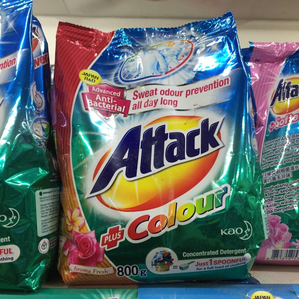 Attack Powder Detergent Colour (800g)