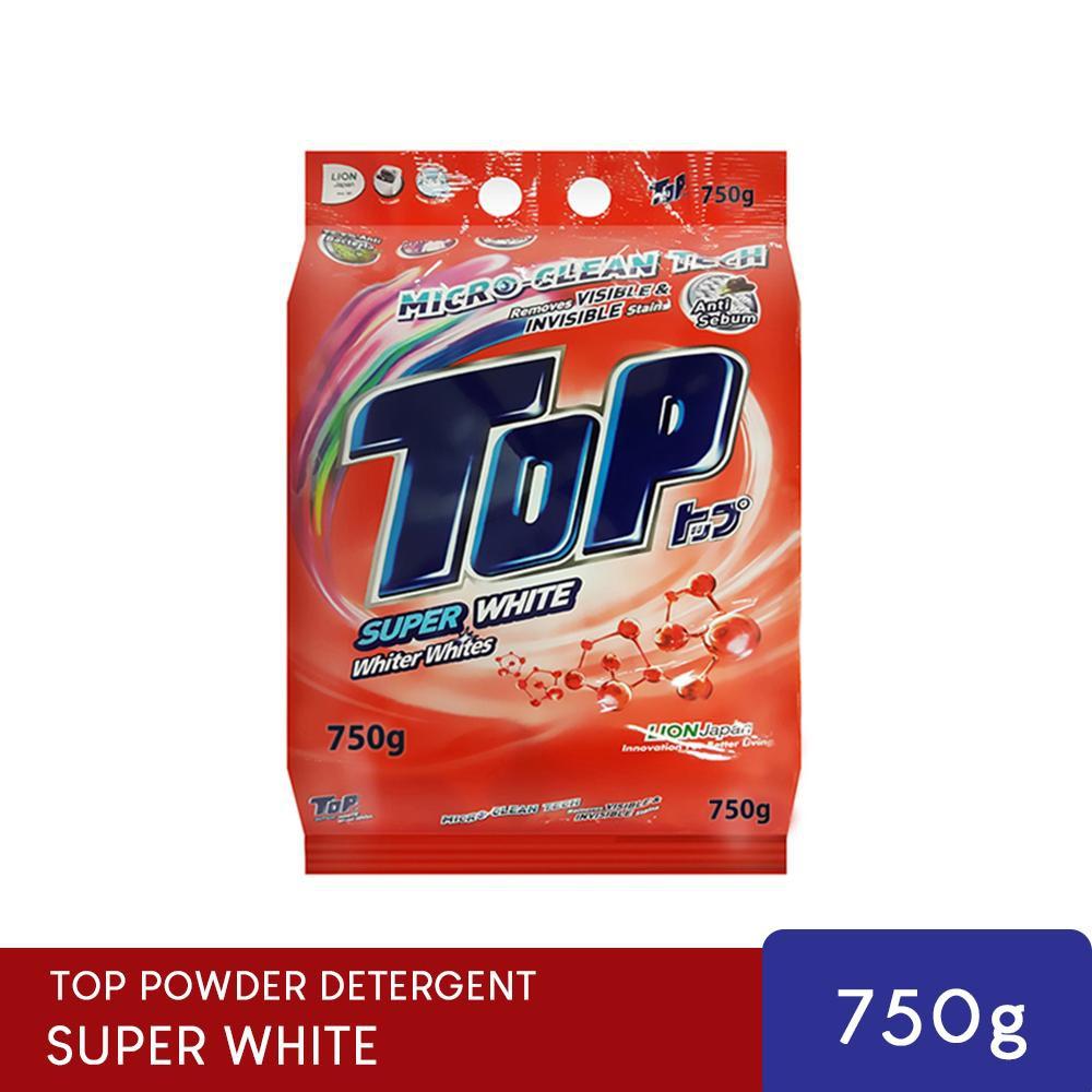TOP Powder Laundry Detergent-Super White (750g)
