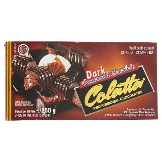 Colatta Dark Compound Chocolate 250g