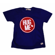 image of BABY BOYS HUG ME BLUE T-SHIRT (FREE SHORTS) FLYNN COLLECTION