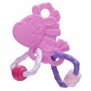 image of PLAYGRO CLOPETTE HORSE ACTIVITY TEETHER