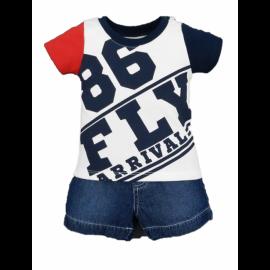 image of BABY BOYS FLIGHT CLUB 86 POLO & SHORTS