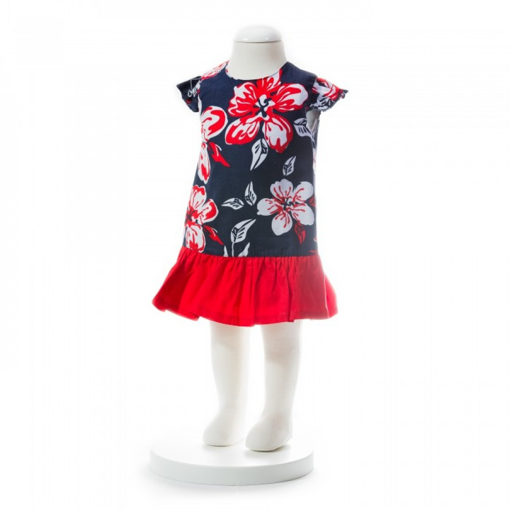 BABY GIRLS SUMMER STYLE FLORAL DRESS