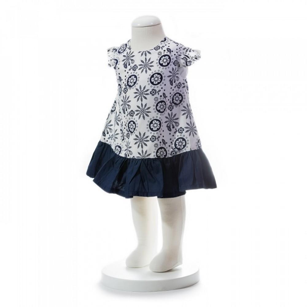 BABY GIRLS SUMMER STYLE AZTEC PATTERN DRESS