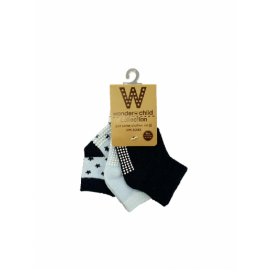 image of BABY BOYS STAR SOCKS (3 PAIRS)