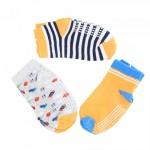 BABY BOYS STRIPE SOCKS (3 PAIRS)