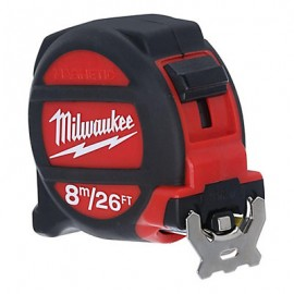 image of MILWAUKEE 8m/26ft Magnetic Tape Measure