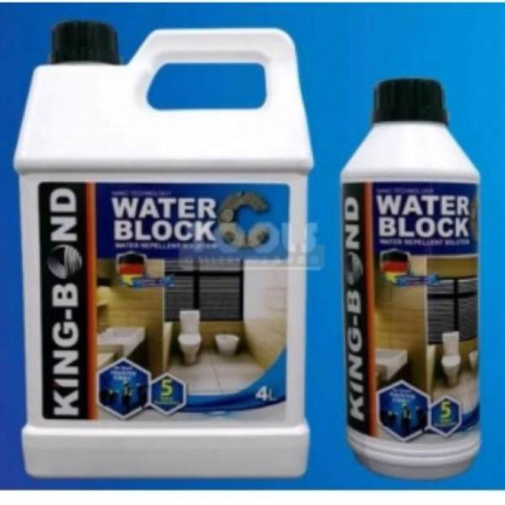 KING BOND WATER BLOCK WATERPROOFING SOLUTION (MADE IN GERMANY)