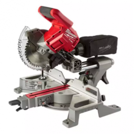 image of MILWAUKEE M18 9.0AH DUAL BEVEL SLIDING COMPOUND MITRE SAW KIT (M18FMS254-901B)