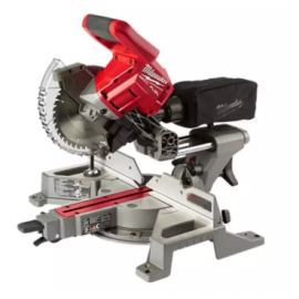 image of MILWAUKEE M18 FUEL DUAL BEVEL SLIDING COMPOUND MITRE SAW (BARE TOOL) M18FMS254-0