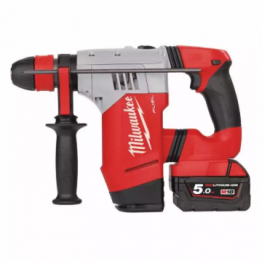 image of Milwaukee M18 FUEL 3 mode 28mm Cordless Battery Rotary Hammer CHPX-502C FOC Milwaukee Cordless 125mm Angle Grinder