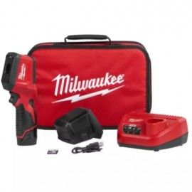 image of MILWAUKEE M12 THERMAL IMAGER / INFRARED CAMERA KIT (2258-21)