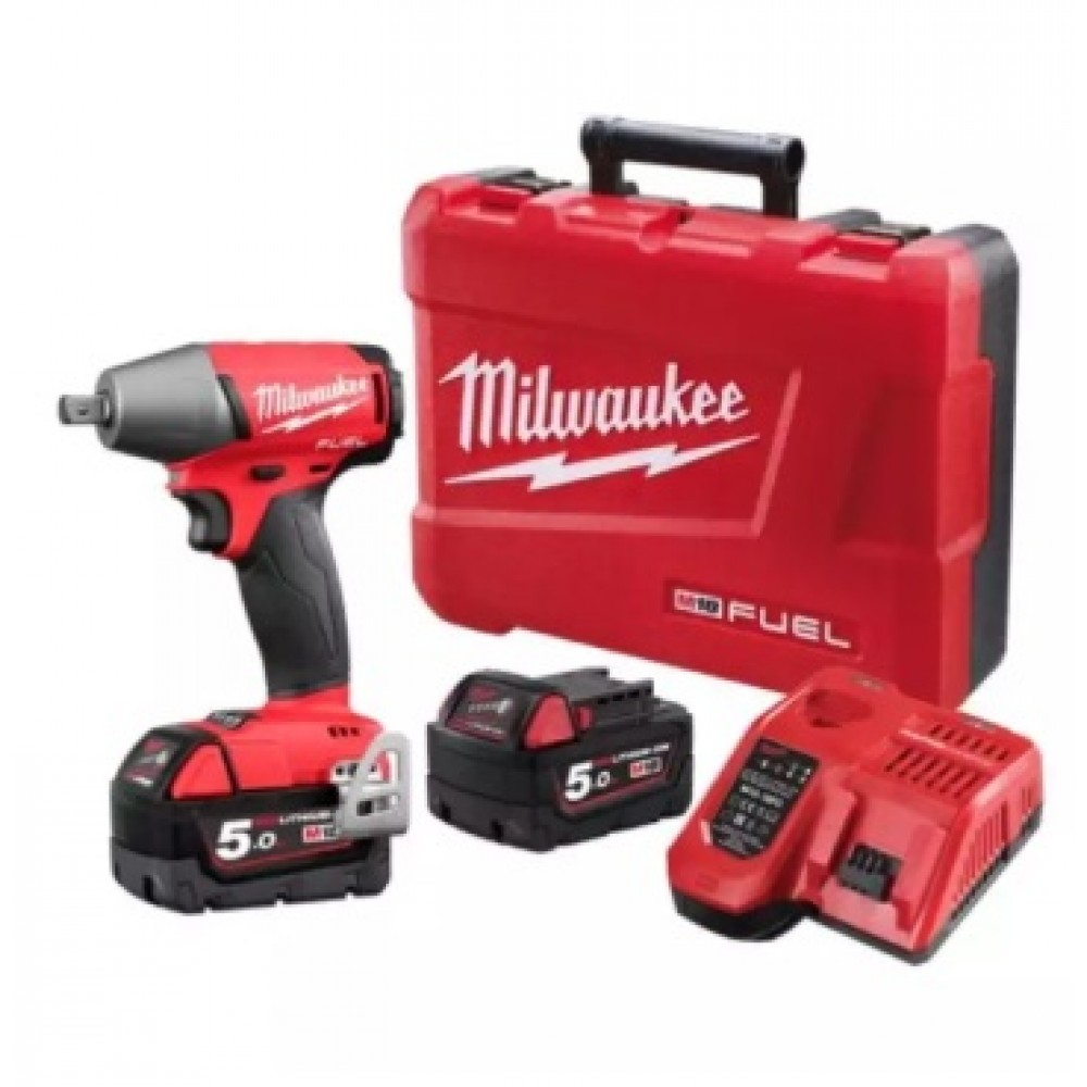 "MILWAUKEE M18 FUEL 1/2"" IMPACT WRENCH WITH PIN DETENT (M18 FIW12-502C)"