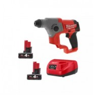 image of MILWAUKEE M12 FUEL 16MM SDS PLUS ROTARY HAMMER COMBO KIT FOC M12 CPD-0