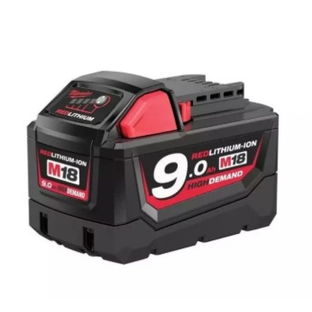 MILWAUKEE M18 9.0AH RED LITHIUM-ION (M18 B9 ASIA)