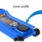 REMAX HIL 3 TON LOWER PROFILE SERVICE HYDRAULIC JACK (77- LP203)