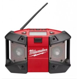 image of MILWAUKEE 12W RADIO WITH MP3 PLAYER CONNECTION - (BARE TOOL)