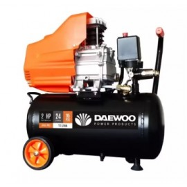 image of DAEWOO 2HP 24LIT AIR COMPRESSOR (DAC24D)