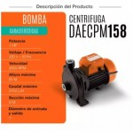 "DAEWOO 750W 1"" ELECTRIC WATER PUMP (DAECPM158)"