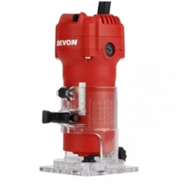 image of DEVON 550W 6MM ELECTRIC WOOD TRIMMER / ROUTER (1326)