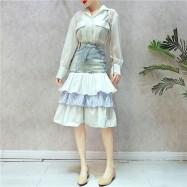 image of Layer Jeans Skirts HongKong Style