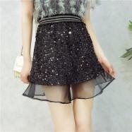 image of Korean Sequin mesh Bling Fishtail Skirts