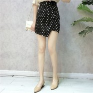 image of Korean Irregular high waist ball dress