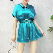 image of Trendy fashion Summer loose jumpsuit