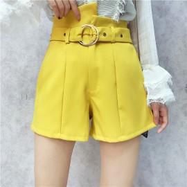 image of Irregular High waist Short Pants