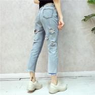 image of *HOT* Summer Jeans Behind hole pocket design