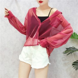 image of Korean Outer wear Cardigan Shirts *2 colour available*