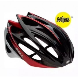 image of Bell Gage MIPS Cycling Helmet Black Red Cadence 100% Original