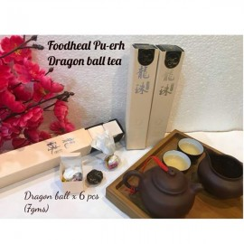 "image of Foodheal Premium ""BingDao"" Pu-er Tea x 6 balls"